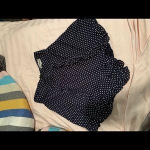 LF polka dot shorts